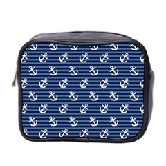 Boat Anchors Mini Travel Toiletry Bag (two Sides) by StuffOrSomething