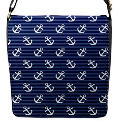 Boat Anchors Flap Closure Messenger Bag (small) by StuffOrSomething