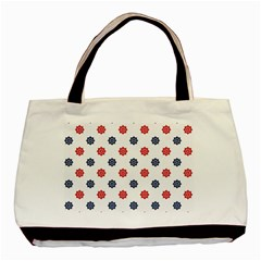 Boat Wheels Twin Sided Black Tote Bag by StuffOrSomething