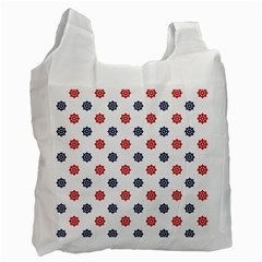 Boat Wheels White Reusable Bag (one Side) by StuffOrSomething