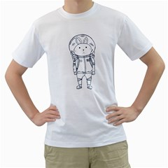 when I go to mars Men s T-Shirt (White)  by Contest1918937