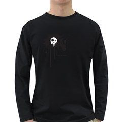 Crazymonster Men s Long Sleeve T Shirt (dark Colored)