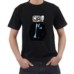 Crazytv Men s T Shirt (black)