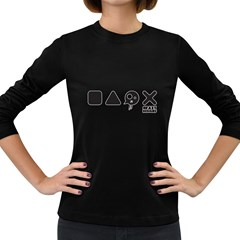 Playcrazy Women s Long Sleeve T Shirt (dark Colored) by Contest1918947