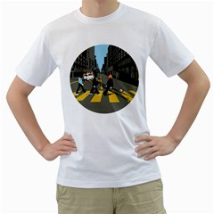 Abbey Road Reloaded Men s T Shirt (white)  by Contest1918347