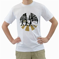 Abbey Road Reloaded 2 Men s T Shirt (white)