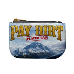 Pay Dirt   Player Bag   Red By Rainer Ahlfors   Mini Coin Purse   3087hh8wdp8w   Www Artscow Com Front