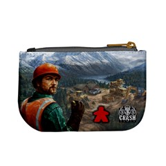 Pay Dirt   Player Bag   Red By Rainer Ahlfors   Mini Coin Purse   3087hh8wdp8w   Www Artscow Com Back