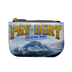 Pay Dirt   Player Bag   Blue By Rainer Ahlfors   Mini Coin Purse   Ll5mo92z2sdj   Www Artscow Com Front