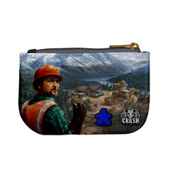 Pay Dirt   Player Bag   Blue By Rainer Ahlfors   Mini Coin Purse   Ll5mo92z2sdj   Www Artscow Com Back