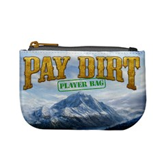 Pay Dirt   Player Bag   Green By Rainer Ahlfors   Mini Coin Purse   65r48yp22r8u   Www Artscow Com Front