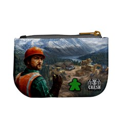 Pay Dirt   Player Bag   Green By Rainer Ahlfors   Mini Coin Purse   65r48yp22r8u   Www Artscow Com Back