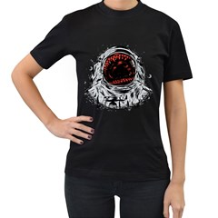 Trouble In The Space Women s T Shirt (black) by Contest1753604