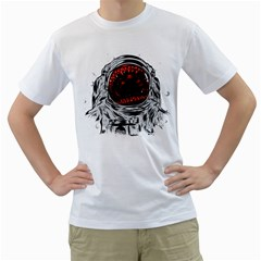 Trouble In The Space Men s T Shirt (white)  by Contest1753604