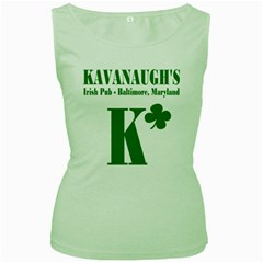 Kavanaugh s Women s Tank Top (green) by chivieridesigns