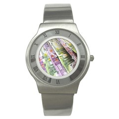 Just Gimme Money Stainless Steel Watch (slim)