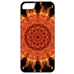 Flaming Sun Apple Iphone 5 Classic Hardshell Case by Zandiepants