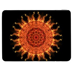 Flaming Sun Samsung Galaxy Tab 7  P1000 Flip Case by Zandiepants