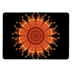 Flaming Sun Samsung Galaxy Tab 10 1  P7500 Flip Case by Zandiepants