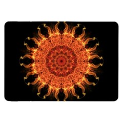 Flaming Sun Samsung Galaxy Tab 8 9  P7300 Flip Case by Zandiepants