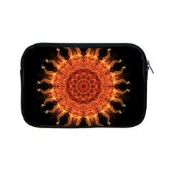 Flaming Sun Apple Ipad Mini Zippered Sleeve by Zandiepants