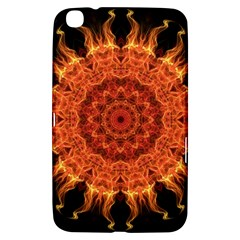 Flaming Sun Samsung Galaxy Tab 3 (8 ) T3100 Hardshell Case  by Zandiepants