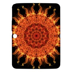 Flaming Sun Samsung Galaxy Tab 3 (10 1 ) P5200 Hardshell Case  by Zandiepants
