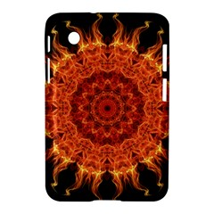 Flaming Sun Samsung Galaxy Tab 2 (7 ) P3100 Hardshell Case  by Zandiepants