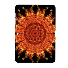 Flaming Sun Samsung Galaxy Tab 2 (10 1 ) P5100 Hardshell Case  by Zandiepants