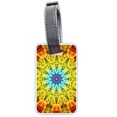 Flower Bouquet Luggage Tag (one Side) by Zandiepants