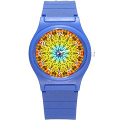 Flower Bouquet Plastic Sport Watch (small) by Zandiepants