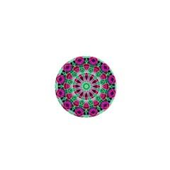Flower Garden 1  Mini Button by Zandiepants