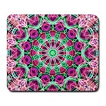 Flower Garden Large Mouse Pad (Rectangle) Front
