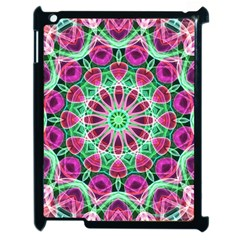 Flower Garden Apple Ipad 2 Case (black) by Zandiepants