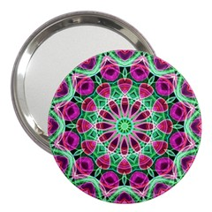 Flower Garden 3  Handbag Mirror by Zandiepants