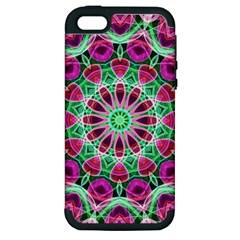 Flower Garden Apple Iphone 5 Hardshell Case (pc+silicone) by Zandiepants