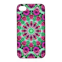 Flower Garden Apple Iphone 4/4s Hardshell Case With Stand by Zandiepants
