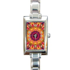 Gemstone Dream Rectangular Italian Charm Watch by Zandiepants