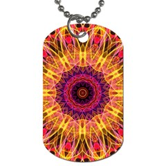Gemstone Dream Dog Tag (two Sided)  by Zandiepants