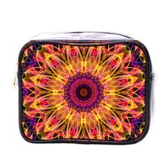 Gemstone Dream Mini Travel Toiletry Bag (one Side) by Zandiepants