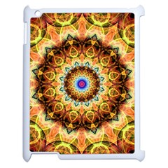 Ochre Burnt Glass Apple Ipad 2 Case (white) by Zandiepants