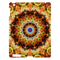 Ochre Burnt Glass Apple Ipad 3/4 Hardshell Case by Zandiepants