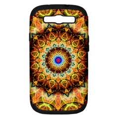 Ochre Burnt Glass Samsung Galaxy S Iii Hardshell Case (pc+silicone) by Zandiepants