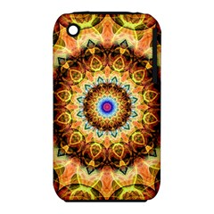 Ochre Burnt Glass Apple Iphone 3g/3gs Hardshell Case (pc+silicone) by Zandiepants