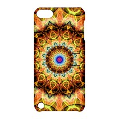 Ochre Burnt Glass Apple Ipod Touch 5 Hardshell Case With Stand by Zandiepants