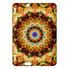Ochre Burnt Glass Kindle Fire Hdx 7  Hardshell Case by Zandiepants
