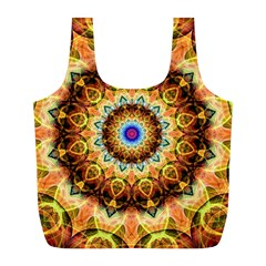 Ochre Burnt Glass Reusable Bag (l)