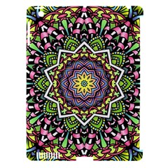 Psychedelic Leaves Mandala Apple Ipad 3/4 Hardshell Case (compatible With Smart Cover) by Zandiepants