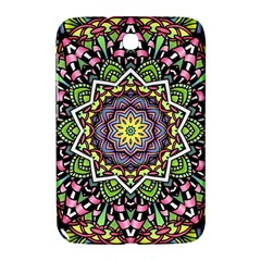 Psychedelic Leaves Mandala Samsung Galaxy Note 8 0 N5100 Hardshell Case  by Zandiepants