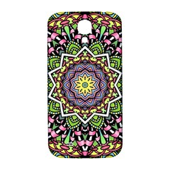 Psychedelic Leaves Mandala Samsung Galaxy S4 I9500/i9505  Hardshell Back Case by Zandiepants